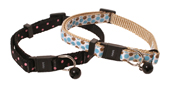 Cat Circus Polka Dot Collar - 6 collars