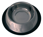 Dog Life - Stainless Steal  Non Tip Bowl : 4 sizes